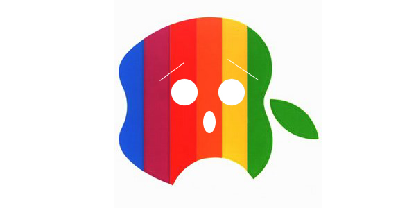 The End of the Rainbow Apple?