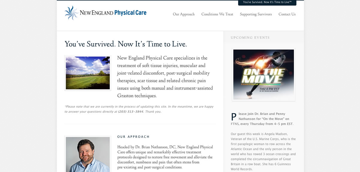 New England Physical Care Gets a New Look